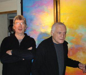 Alain Simon et John Giorno 18 02 2009