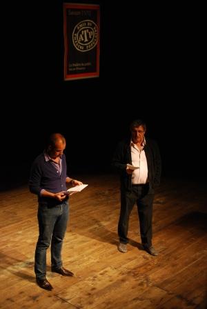 Mathieu Grizard et Bernard Pelinq