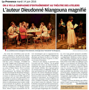 La Provence - Immateriel mardi 14 juin 2016